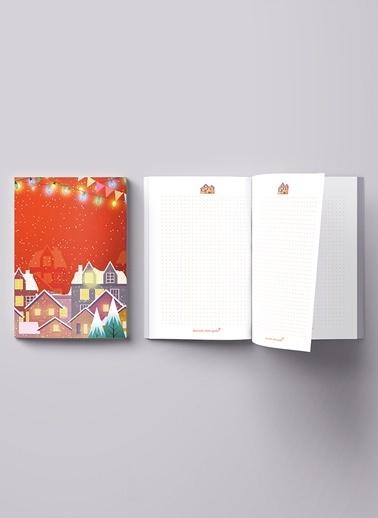 LWP Shop Christmas Fair Series Notebook Kırmızı